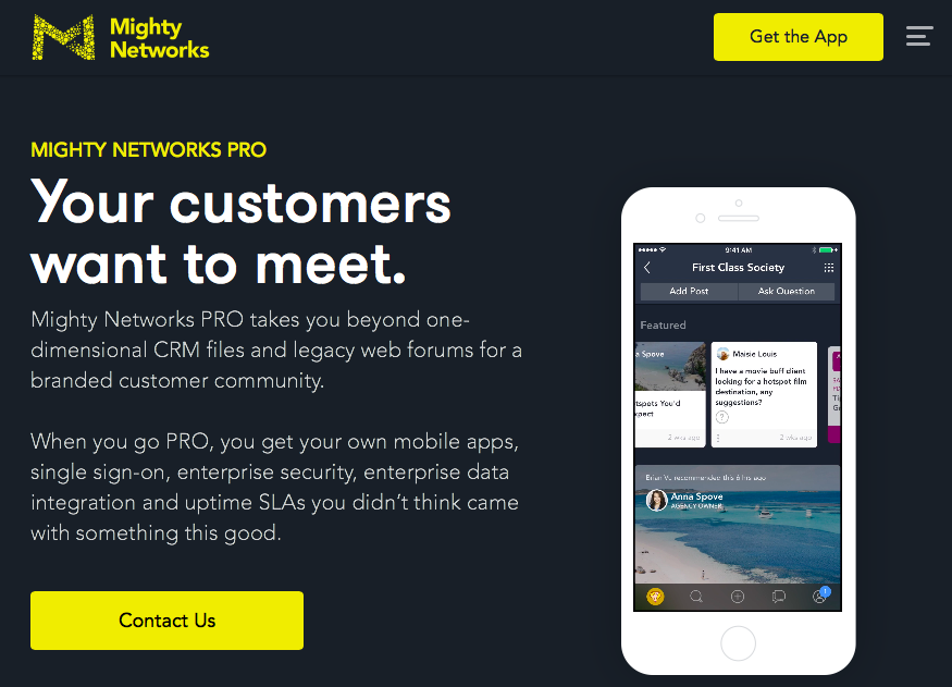 Mighty Networks PRO