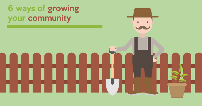 6 ways of growing your online community