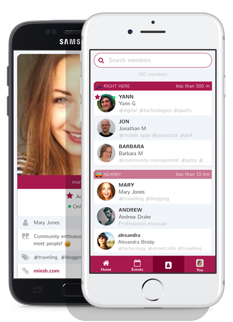 📱 Minsh, Private messaging app for groups